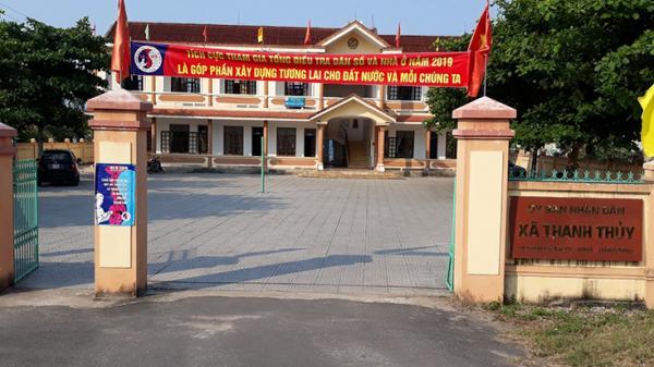 Kẻ gi an đột nhập trụ sở UBND xã Thanh Thủy lấy c ắp tài sản