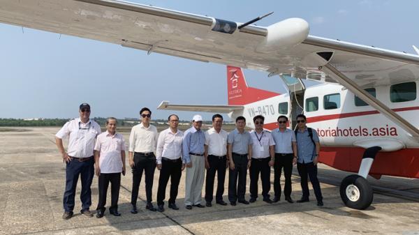 Chuẩn bị khai trương đường bay Đồng Hới-Đà Nẵng và dịch vụ bay ngắm cảnh Phong Nha-Kẻ Bàng