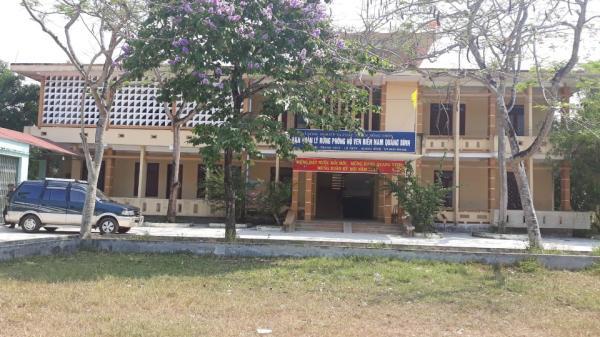Tr ộm đ ột nhập trụ sở Ban quản lý rừng phòng hộ Nam Quảng Bình lấy nhiều tài sản