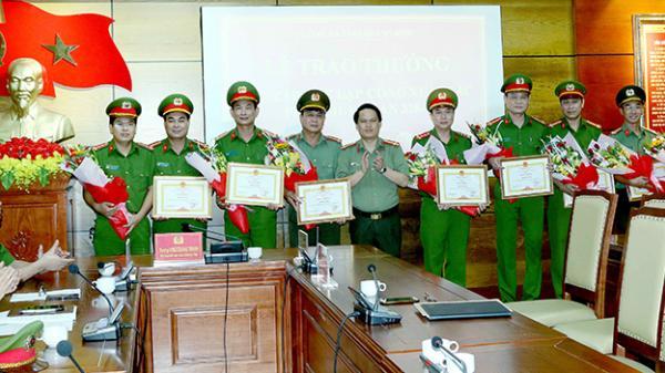 Quảng Bình: Thưởng nóng các đơn vị phá thành công chuyên á n 328T