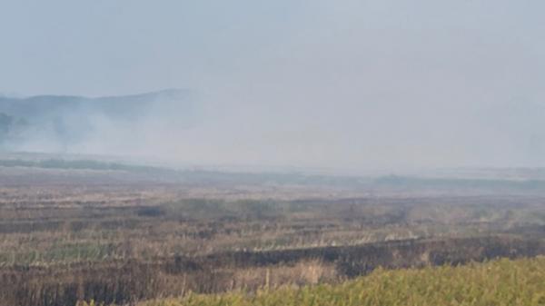 Quảng Bình: Đ ốt cháy 950 cuộn rơm vì chưa làm luật bảo kê