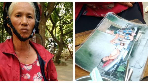Quảng Bình: Mẹ già hành khất kiếm tiền c ứu con