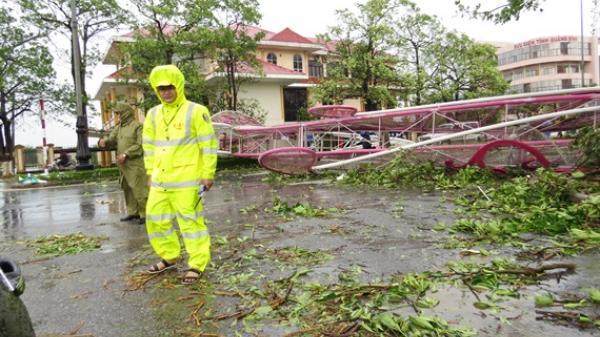 Quảng Bình đã có 1 người chết, 6 người bị thương do bão