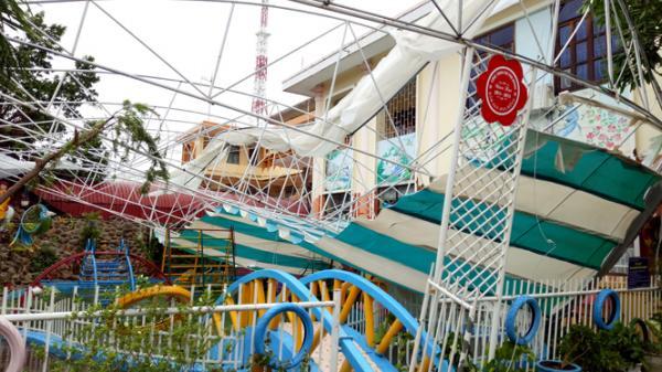 Các trường học trên địa bàn TP Đồng Hới thiệt hại nặng do bão số 10
