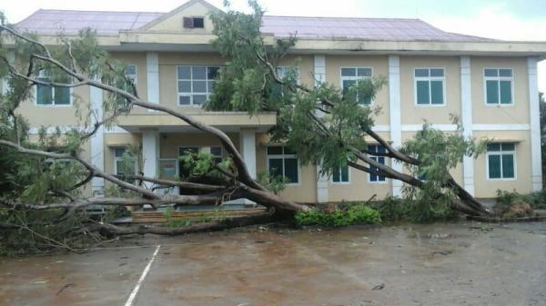 Lệ Thủy: 5 người bị thương do bão số 10
