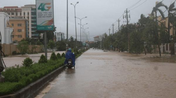 TP Đồng Hới lập danh sách 13 điểm đen ngập lụt