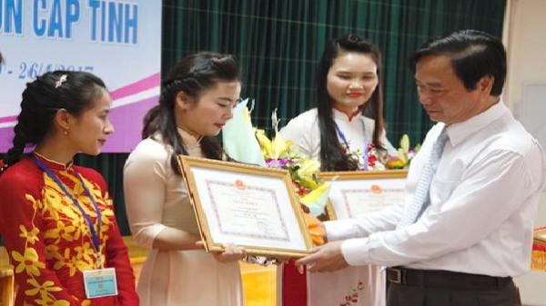 Quảng Bình: Trao giải giáo viên mầm non dạy giỏi