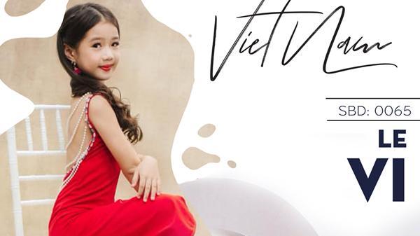 Nguyễn Lê Vi - nàng mẫu Quảng Bình xuất sắc góp mặt vào bán kết Siêu sao mẫu nhí Việt Nam 2019