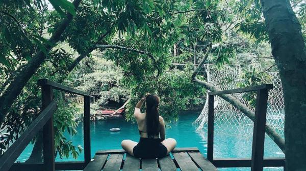 """Có một """"thiên đường chốn trần gian"""" đẹp đến rụng rời ngay tại suối Moọc Quảng Bình"""