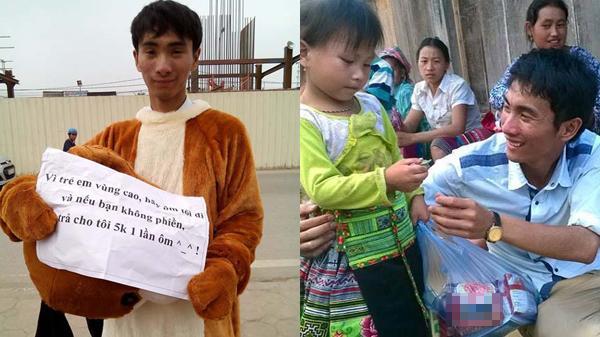 Chàng trai Quảng Bình mắc bệnh hiểm nghèo vẫn nỗ lực mang Tết Trung đến với trẻ em vùng cao