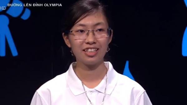 Thí sinh nữ Ninh Bình đạt điểm cao nhất lịch sử Đường lên đỉnh Olympia