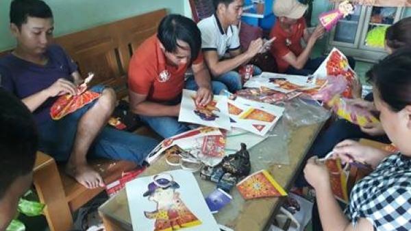 Quảng Bình: Ấm áp tết Trung thu sớm cho trẻ em khuyết tật