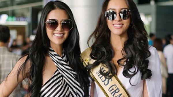 Cận cảnh dàn thí sinh đầu tiên đổ bộ Việt Nam tham dự Miss Grand International 2017