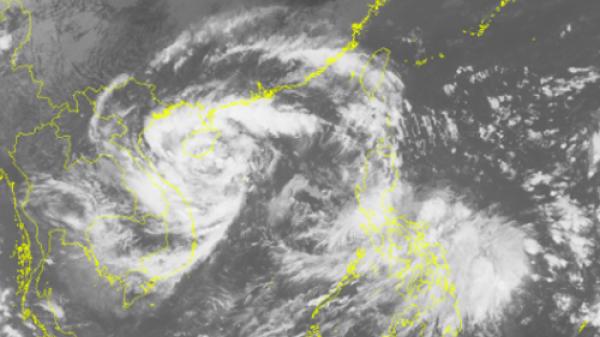 Áp thấp khả năng thành bão, vào Hà Tĩnh - Quảng Bình