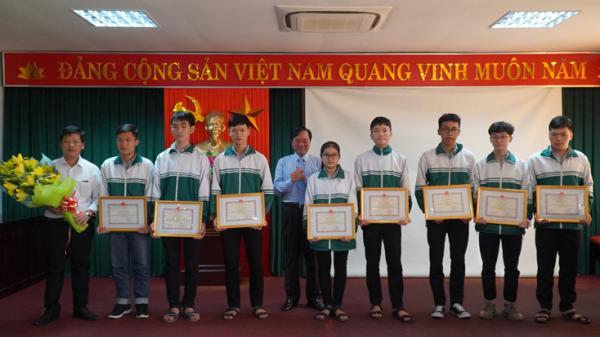 Quảng Bình đạt 34 giải học sinh giỏi quốc gia năm học 2019-2020