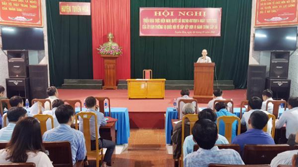 Từ ngày 1-2-2020, xã Nam Hóa nhập vào xã Thạch Hóa