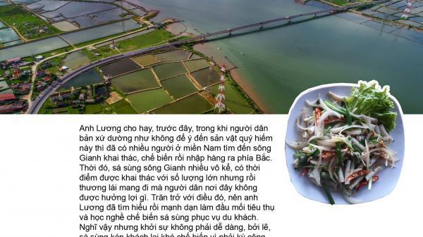 Sản vật quý hiếm của dòng sông Gianh - Quảng Bình