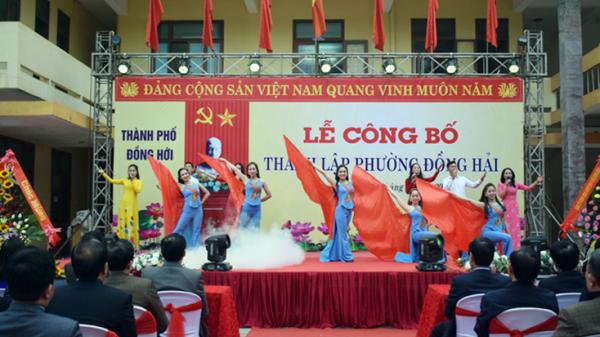 TP. Đồng Hới: Công bố thành lập phường Đồng Hải