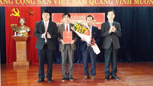 Quảng Bình công bố thành lập các xã Thạch Hoá, Ngư Thuỷ và Trường Thuỷ
