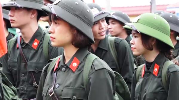 Quảng Bình có 7 công dân nữ xung phong đi nghĩa vụ