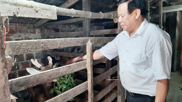 Người lan toả nghề nuôi hươu thoát nghèo ở Quảng Bình