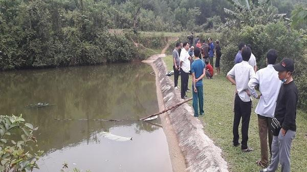Trượt chân ở đập nước, 2 anh em ở Quảng Bình ch.ế.t đ.u..ối