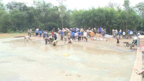 Xây dựng 45 công trình sân chơi cho thanh thiếu nhi Quảng Bình
