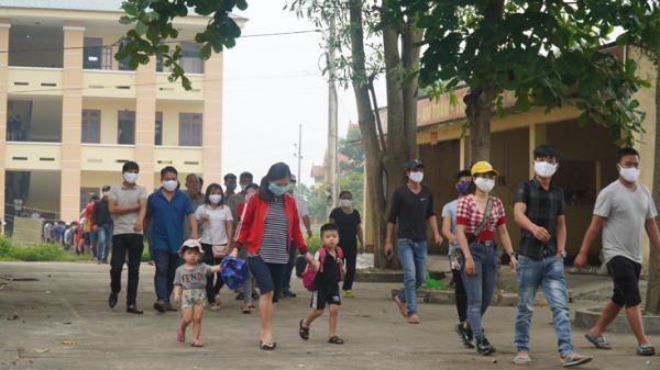 Gần 500 công dân hoàn thành cách ly ở Quảng Bình