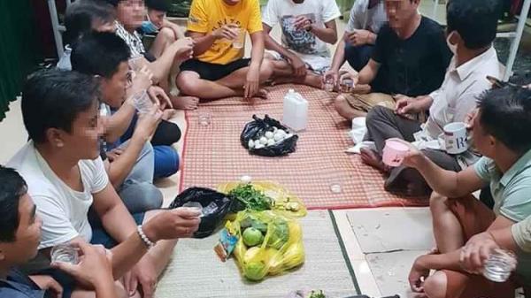 Xử ph.ạt nhóm người tổ chức ăn nh.ậu trong khu cách ly tập trung ở Quảng Bình