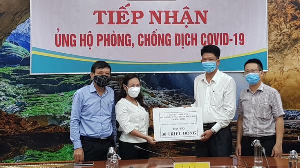 Quảng Bình tiếp nhận hơn 6,5 tỷ đồng ủng hộ phòng chống COVID-19