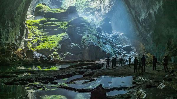 Hang Sơn Đoòng lọt top 10 tour du lịch ảo đáng tham quan nhất thế giới