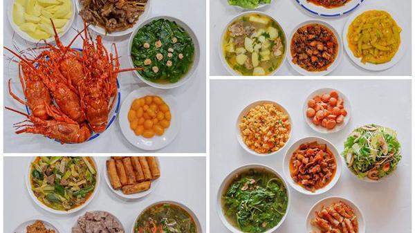 Mỗi ngày nấu cho 7 người ăn, cô gái Quảng Bình khiến cộng đồng mạng trầm trồ với những món ăn đậm đà hương vị quê hương