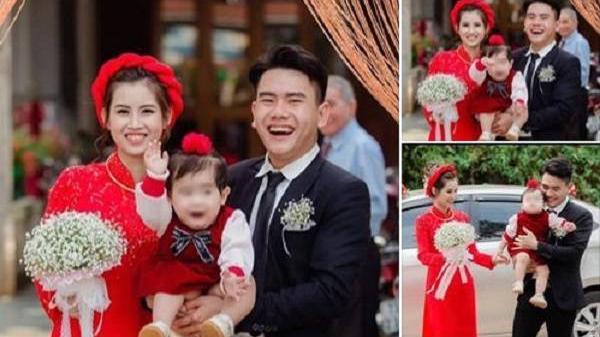 """Làm """"náo loạn"""" đám cưới bố mẹ, bé gái Quảng Bình bỗng chốc trở thành nhân vật hot trên MXH"""