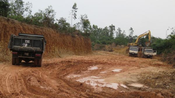 Quảng Bình: Chỉ được khai thác khoáng sản cát, sỏi, đất san lấp từ 6 giờ sáng đến 17 giờ hàng ngày