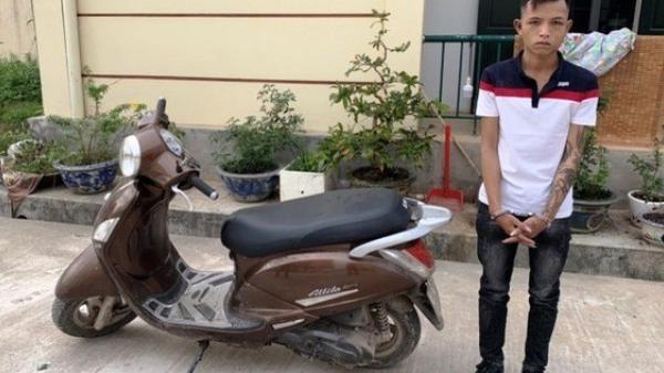 """B.ắt giữ """"siêu tr.ộm"""" chuyên cuỗm xe máy ở TP Đồng Hới"""