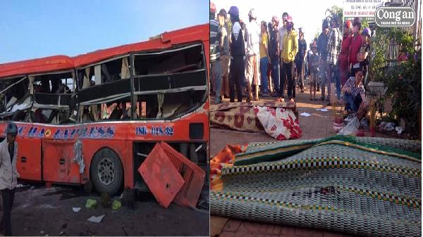 Vụ TNGT thảm khốc tại Gia Lai: Xe tải di chuyển với tốc độ kinh hoàng