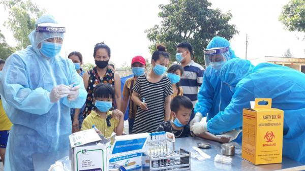 Quảng Bình tiếp tục đón và cách ly công dân về nước qua Cửa khẩu quốc tế Cha Lo