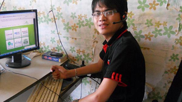 Chàng trai khuyết tật trở thành lập trình viên công ty nước ngoài