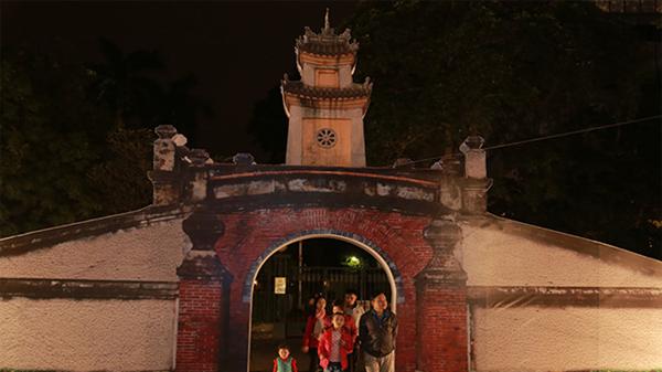 Tái hiện một phần Quảng Bình ngay giữa phố đi bộ Hà Nội
