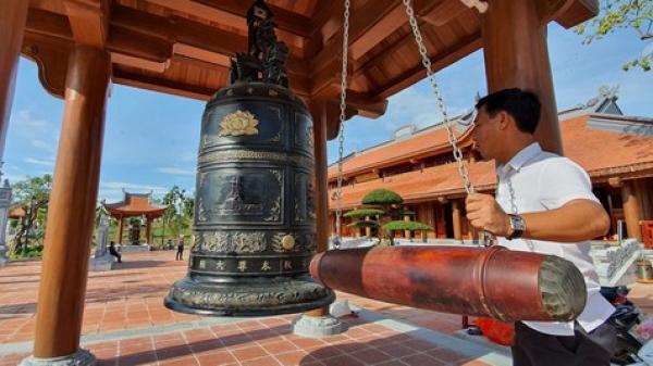 Hoàn thành đền thờ Bác Hồ và các anh hùng liệt sĩ tại Quảng Bình