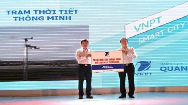 VNPT tặng UBND tỉnh Quảng Bình 2 trạm dự báo thời tiết thông minh