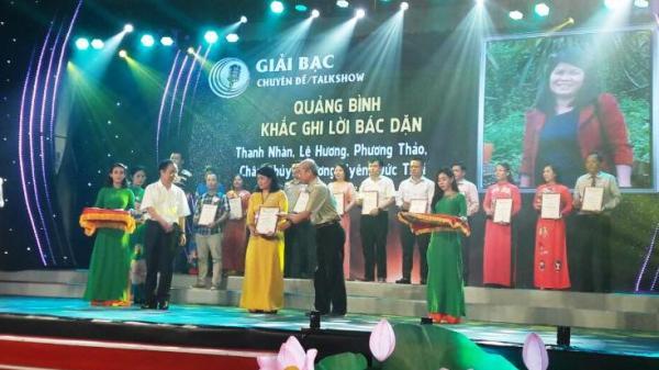 Đài PT-TH Quảng Bình giành 2 giải bạc Liên hoan Phát thanh toàn quốc