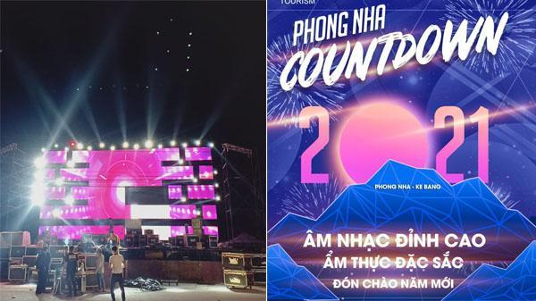 Quảng Bình: Đếm ngược giờ khắc Giao thừa tại Countdown Party 2021 Phong Nha