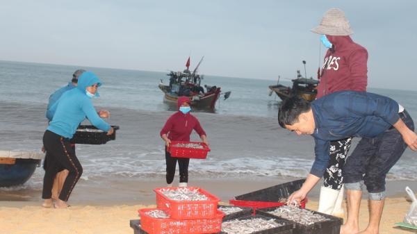 """Đón """"lộc biển"""" ở chợ cá Nhân Trạch"""