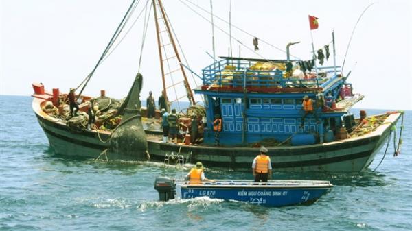 Quảng Bình 'căng mình' ngăn chặn tình trạng đánh bắt thủy sản trái phép