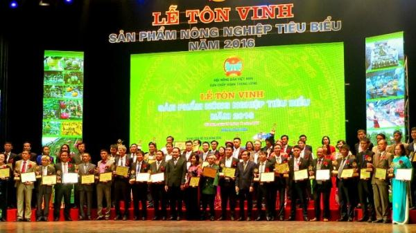 """3 sản phẩm của Quảng Bình được tôn vinh """"Sản phẩm nông nghiệp tiêu biểu 2016"""""""
