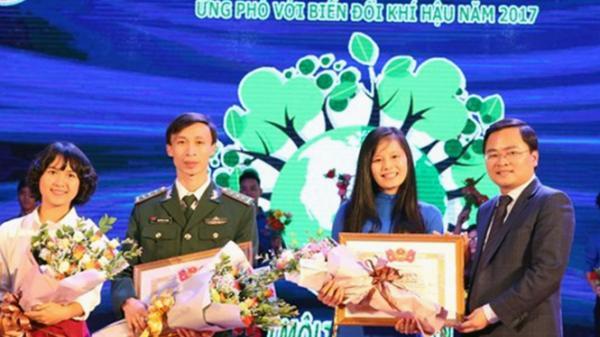 Quảng Bình đạt giải nhất cuộc thi xây dựng ý tưởng, đề án thanh niên chung tay bảo vệ môi trường