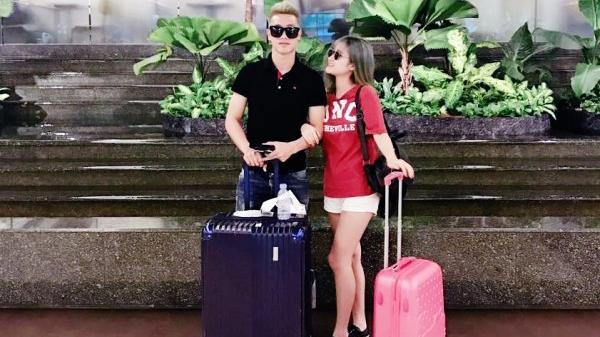 Chuyện tình yêu 'sét đánh' của nữ sinh trường sân khấu điện ảnh và sao CLB Quảng Nam