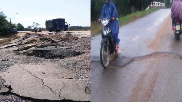 Quảng Nam: Sửa tạm thời tuyến ĐT 609B qua Đại Hiệp