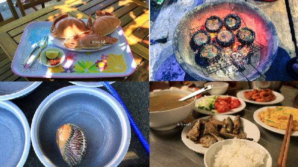 Du lịch Cù Lao Chàm tuyệt đối không nên bỏ qua những món ăn này